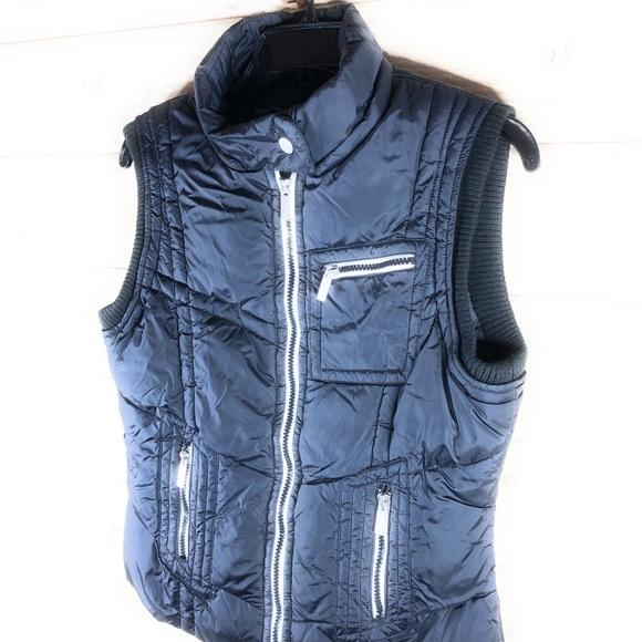 blanc noir Jackets & Blazers - Blanc Noir Down Blend Vest